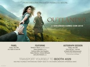 Starz Original Drama OUTLANDER Set for 2014 Comic-Con