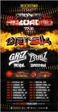 Datsik & Rockstar Energy Drink to Present the 'Firepower Reloaded' Tour; All Dates, Stops Announced