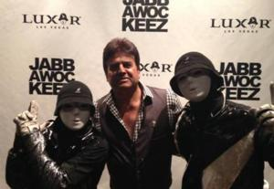 SIGHTING: Actor Erik Estrada Visits Jabbawockeez Show in Las Vegas