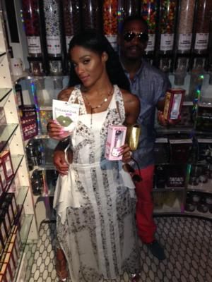 SIGHTING: Joseline Hernandez and Stevie J Enjoy Date Night at Sugar Factory in NYC