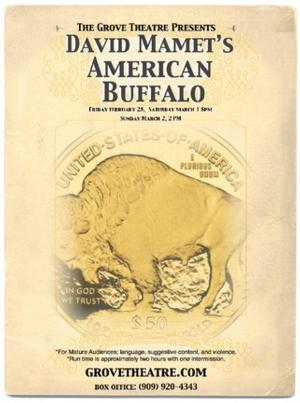 Grove Theatre Presents David Mamet's AMERICAN BUFFALO, Now thru 3/2