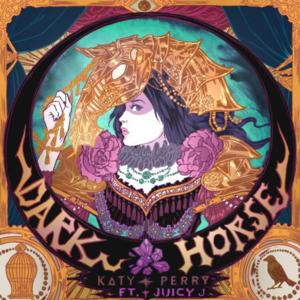 FIRST LOOK - Katy Perry Reveals Artwork for New Single 'Dark Horse'