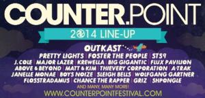 2014 CounterPoint Music & Arts Festival Line-Up Announced
