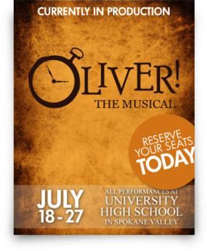 Tickets Now on Sale for CYT-North Idhao's Summer CCT Show OLIVER!, 7/18-27