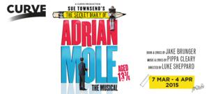 ADRIAN MOLE Musical To Premiere At Curve, March 2015