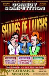 Cris Larsen Announces SHADES OF LAUGHS Comedy Competition, 1/4-5 & 1/11-12