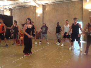 Photo Coverage: Danielle Hope, Lloyd Daniels And Matt Lapinskas Rehearse JOSEPH!
