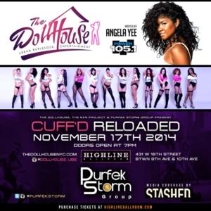 The Dollhouse NYC to Present CUFF'D RELOADED at the Highline Ballroom, 11/17