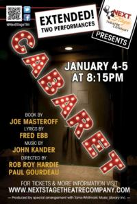 CABARET Extended at Next Stage Theatre thru Jan 5