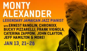 Monty Alexander to Kick Off Celebration of Jazz and Reggae at the Blue Note, 1/21