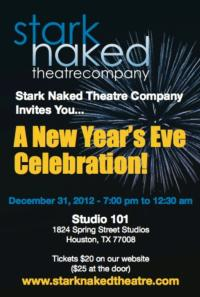 Stark Naked Theatre Company Hosts New Year's Eve Party at Studio 101