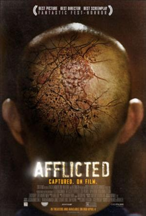AFFLICTED Set for West Coast Premiere at 'Hollywood Horrorfest', 3/28