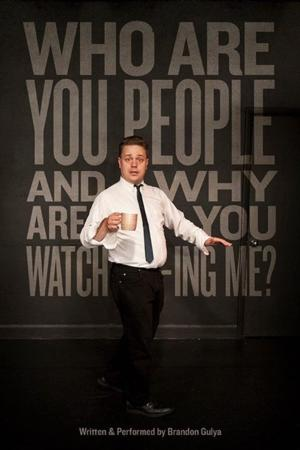 Upright Citizen's Brigade Theatre to Present WHO ARE YOU PEOPLE AND WHY ARE YOU WATCHING ME, 1/9 & 23