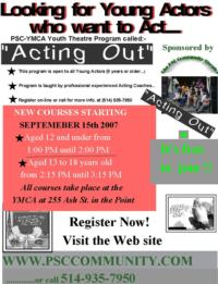 PSC-Community-Theatre-to-Present-ACTING-OUT-Skits-at-Point-YMCA-119-20010101