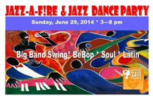 Jazz-A-F!RE Returns & Jazz Dance Party Debuts at The Memphis Black Arts Alliance FireHouse Community Arts Center, 6/29