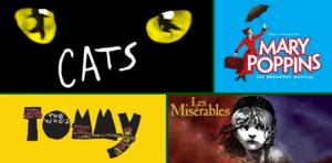 CATS, LES MIS & More Set for Paramount's 2014-15 Broadway Series