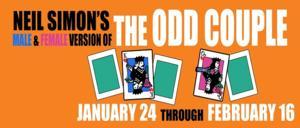 THE ODD COUPLE Runs Now thru 2/16 at Chattanooga Theatre Centre