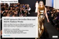 WGSN Announces Fall 2013 Womenswear Forecasts