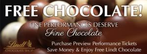 Berkshire Theatre Group Offers Free Chocolate