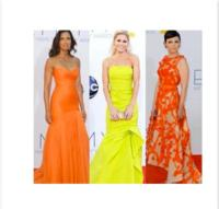 Celebs Shine in FIDM Graduate Monique Lhuillier Gowns at Emmy Awards 2012