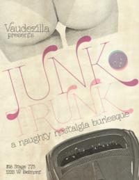 Vaudezilla to Present JUNK IN THE TRUNK Burlesque, 1/19