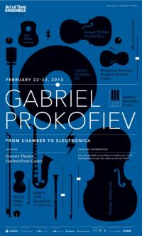 Art of Time Ensemble to Present Gabriel Prokofiev: FROM CHAMBER TO ELECTRONICA, Feb 22-23