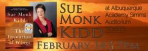 This March at Bookworks Sue Monk Kidd, Charlotte Gullick, and More