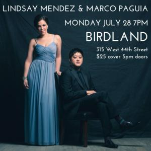 Lindsay Mendez and Marco Pagula Perform Tonight at Birdland