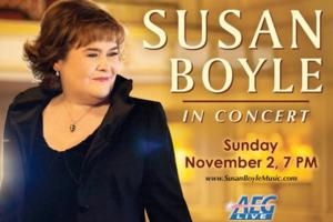Susan Boyle to Perform in Concert at the King Center, 11/2; Tickets on Sale 6/16