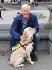 Broadway-Designer-Lloyd-Burlingame-Releases-Book-TWO-SEEING-EYE-DOGS-TAKE-MANHATTAN-20120821