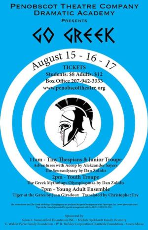 Penobscot Theatre Company's Dramatic Academy Summer Continues 8/16-18