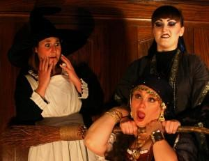 World Premiere of WITCH SLAP! Presented with Babes with Blades Theatre Company, Now thru 9/20