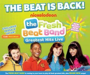 Fresh Beat Band Coming to PPAC, 12/4