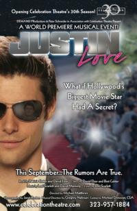 JUSTIN LOVE World Premiere Kicks Off Celebration Theatre's 30th Season, 9/7