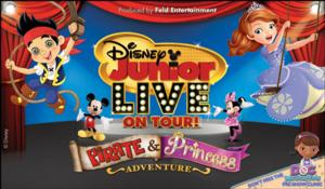 Tickets Now On Sale for Autism-Friendly Performance of DISNEY JUNIOR LIVE ON TOUR! PIRATE & PRINCESS ADVENTURE on 4/19