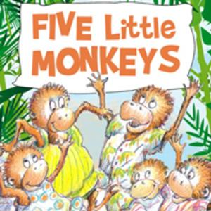 MTC Presents FIVE LITTLE MONKEYS, 8/20-9/7