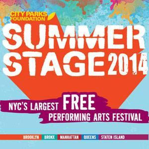 Coming Up at SummerStage, 6/23-7/7