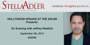 Stella Adler to Kick Off 'Hollywood Speaks' Series with Jeffrey Reddick, 9/5