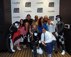 Cast of EVIL DEAD Ivades JABBAWOCKEEZ