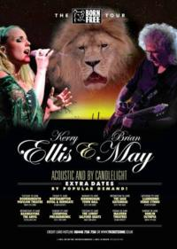 Kerry Ellis and Brian May Announce Second BORN FREE Tour, From June 2013