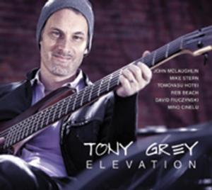 Tony Grey to Release New Album 'Elevation' on 10/15
