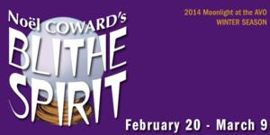 Moonlight Stage Productions to Present BLITHE SPIRIT at AVO Playhouse, Begin. 2/20