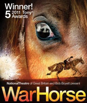 WAR HORSE Plays Andrew Jackson Hall, Now thru 6/8