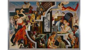 Thomas Hart Benton's AMERICA TODAY On View Starting 9/30 at Met Museum