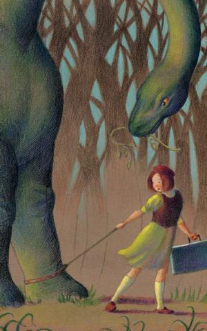 World Premiere of LULU AND THE BRONTOSAURUS Set for Imagination Stage Sept 25 - Oct 27