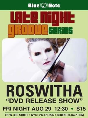 Roswitha's DVD Release Show Set for the Blue Note, 8/29
