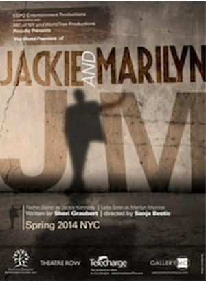 JACKIE AND MARILYN Set for Lion Theatre, 4/18