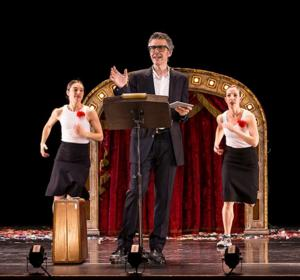 Ira Glass and Monica Bill Barnes & Co. to Bring THREE ACTS, TWO DANCERS, ONE RADIO HOST to The Town Hall, 9/10-12