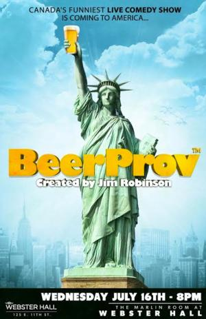 BEERPROV to Serve Up Laughs and Beer 7/16 at Webster Hall