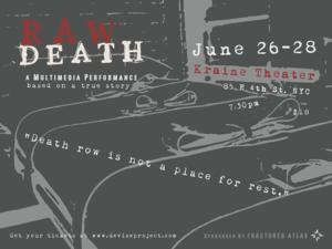 RAW DEATH to Play The Kraine Theatre, 6/26-28